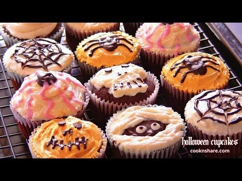 Halloween Cupcakes (Halloween Series Episode 1)
