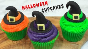 DIY HALLOWEEN CUPCAKES | Awesome Witch Cupcakes, Pumpkin Cakes and More