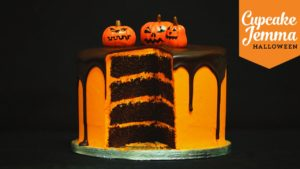 Halloween Special! Chocolate Orange Layer Cake