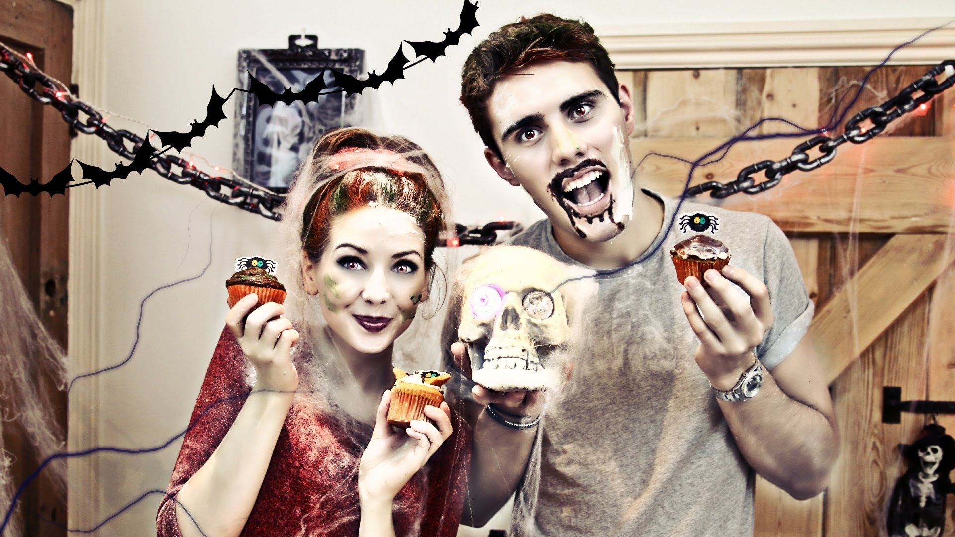 Halloween Cupcakes with PointlessBlog