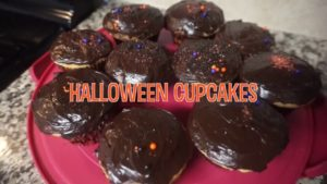 Cooking with Ava and Emma: Halloween Cupcakes