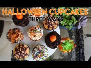 Halloween Cupcakes 3 Ways! Easy and Vegan