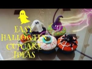 Easy Halloween Cupcakes Ideas PART II