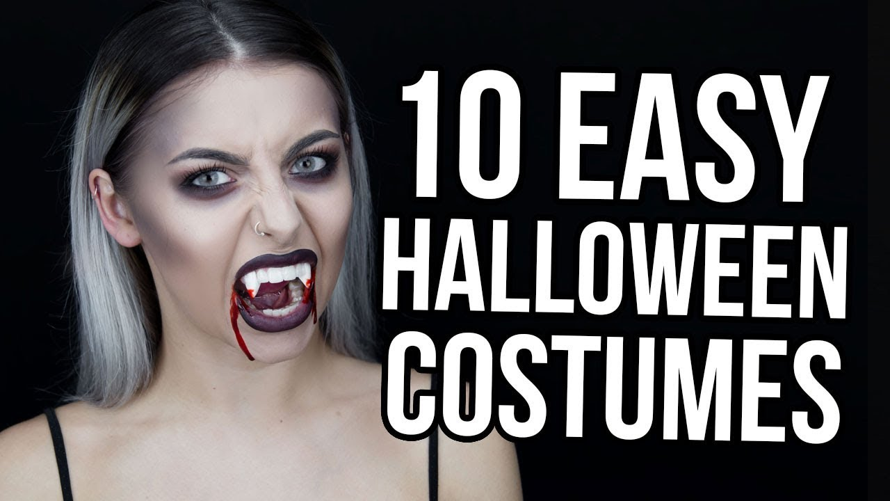 10 easy last minute halloween makeup
