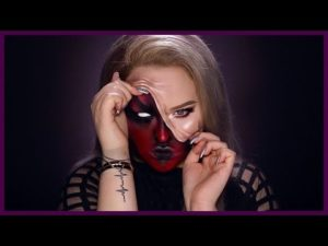 DEMON – Pulled Up Skin Halloween Makeup Tutorial
